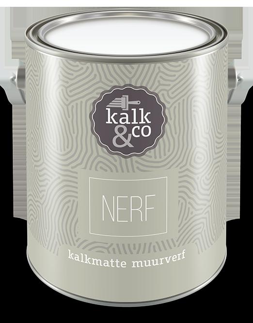 Kalkverf Nerf. Kalkverf ontwikkeld door Kalk&Co. Bijzondere kwaliteit kalkverf, geen krijtverf. Diverse prachtige tinten. Online kalkverf kopen? Kalkverf van Kalk&Co is nu ook online direct te koop in onze webshop.