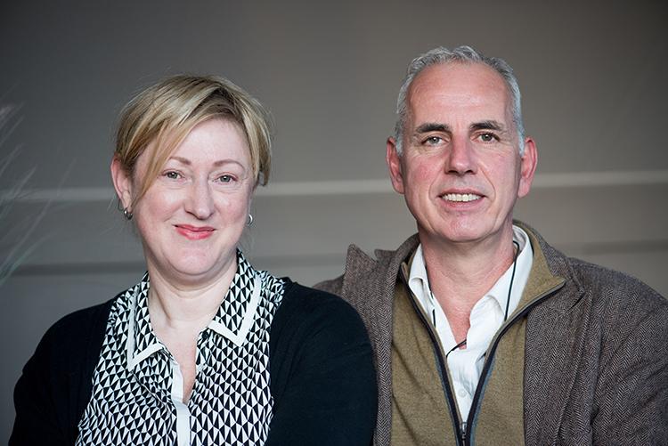 Hetty Martens en Arjen Weeling, eigenaren van Kalk & Co in Overasselt
